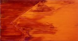 オレンジの破風,1990 中村一美